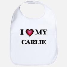 I love my Carlie Baby Bib
