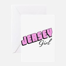 Jersey Girl Greeting Cards
