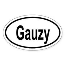 GAUZY Oval Decal