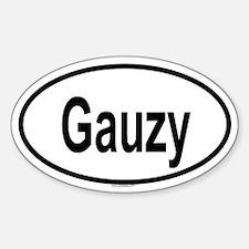 GAUZY Oval Decal