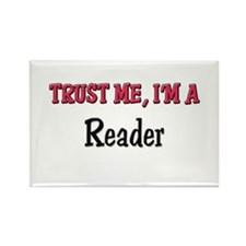 Trust Me I'm a Reader Rectangle Magnet