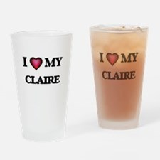 I love my Claire Drinking Glass