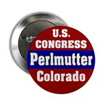 Ed Perlmutter for Congress Button
