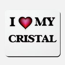 I love my Cristal Mousepad
