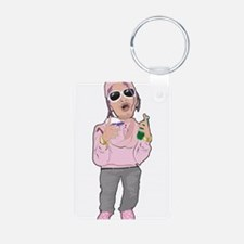 Turn Up Rapper Keychains