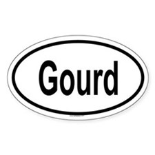 GOURD Oval Decal