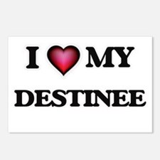 I love my Destinee Postcards (Package of 8)