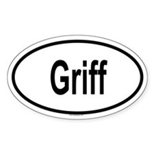 GRIFF Oval Decal