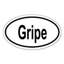 GRIPE Oval Decal