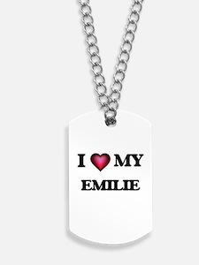 I love my Emilie Dog Tags