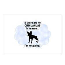 Chihuahuas In Heaven Postcards (Package of 8)