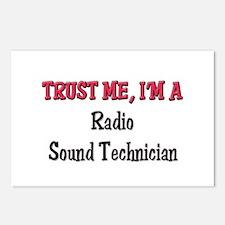 Trust Me I'm a Radio Sound Technician Postcards (P
