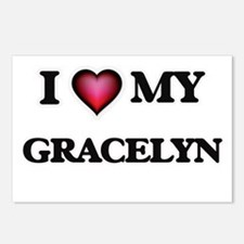 I love my Gracelyn Postcards (Package of 8)