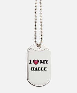 I love my Halle Dog Tags