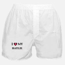 I love my Haylie Boxer Shorts