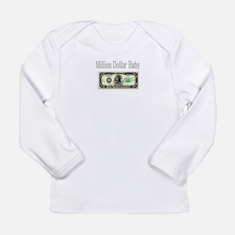 3-Million Dollar Baby.pspimage Long Sleeve T-Shirt