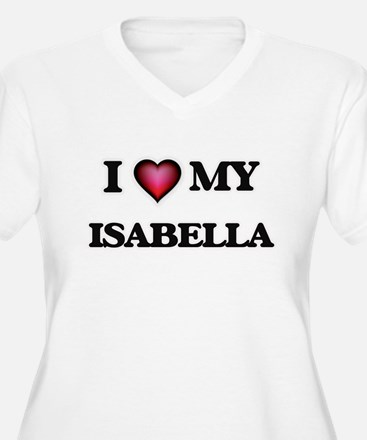 I love my Isabella Plus Size T-Shirt