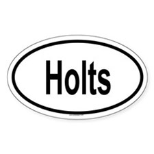 HOLTS Oval Decal