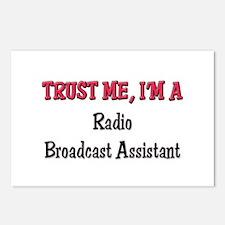 Trust Me I'm a Radio Broadcast Assistant Postcards
