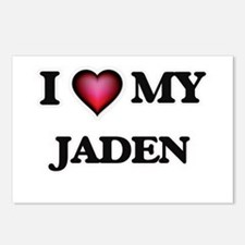 I love my Jaden Postcards (Package of 8)