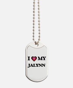 I love my Jalynn Dog Tags