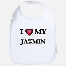 I love my Jazmin Baby Bib