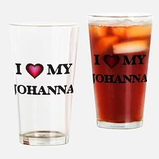 I love my Johanna Drinking Glass