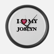 I love my Joslyn Large Wall Clock