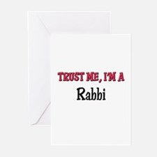 Trust Me I'm a Rabbi Greeting Cards (Pk of 10)