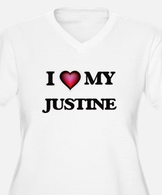 I love my Justine Plus Size T-Shirt