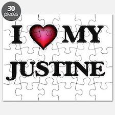 I love my Justine Puzzle
