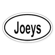 JOEYS Oval Decal