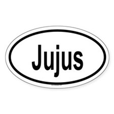 JUJUS Oval Decal