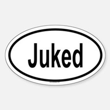 JUKED Oval Decal