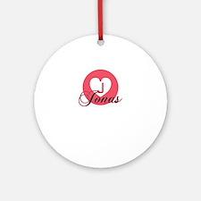 jonas Round Ornament