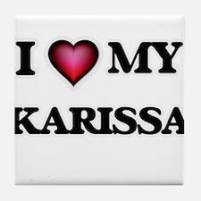 I love my Karissa Tile Coaster