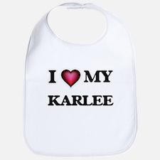 I love my Karlee Baby Bib