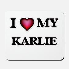I love my Karlie Mousepad