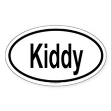 KIDDY Oval Decal