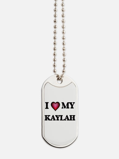 I love my Kaylah Dog Tags