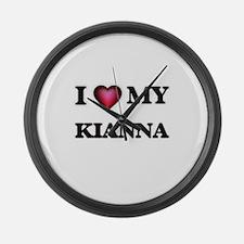 I love my Kianna Large Wall Clock