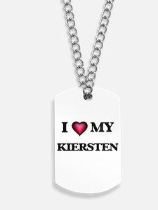 I love my Kiersten Dog Tags