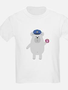Polar Bear Police Officer T-Shirt