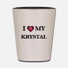 I love my Krystal Shot Glass