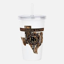 TEXAS RIG UP CAMO Acrylic Double-wall Tumbler