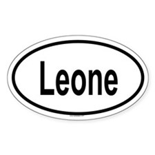 LEONE Oval Decal