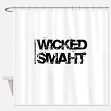 Wicked Smaht Shower Curtain
