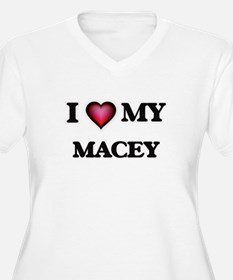 I love my Macey Plus Size T-Shirt