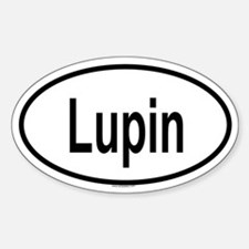LUPIN Oval Decal