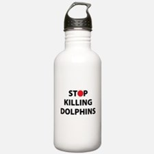 Stop Killing Dolphins Water Bottle